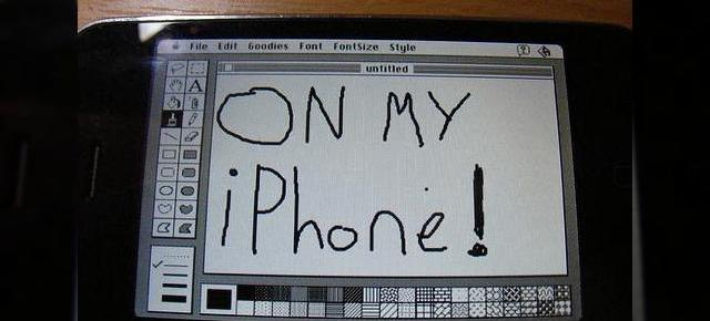 iPhone ruleaza Mac System 7, face in ciuda lui Nokia N95, care rula Windows 3.1