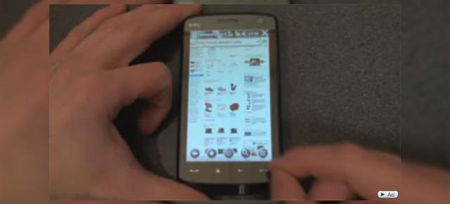 Internet Explorer Mobile 6, in actiune pe HTC Touch HD (Video)