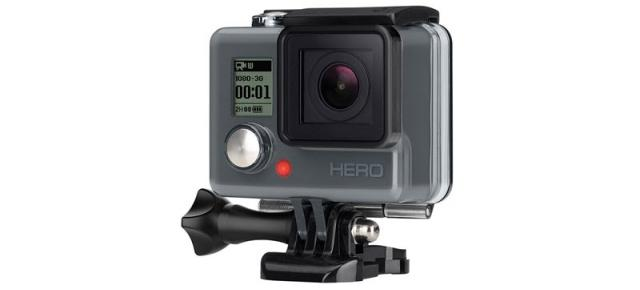 Camera video de acțiune GoPro HERO beneficiază de un discount pe TomTop; costă 52.99 euro