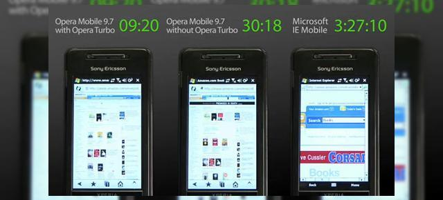 Opera Mobile 9.7, o scurta analiza (Video)