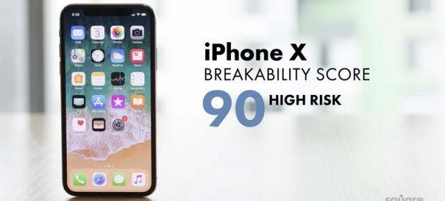 iPhone X are o sticlă care se sparge mult mai uşor decât cea de pe iPhone 8; Iată testele SquareTrade (Video)