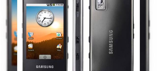 Samsung planuieste sa lanseze 3 telefoane Android in 2009