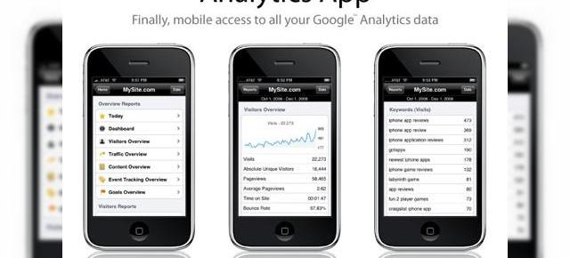 Aplicatia Google Analytics soseste pe iPhone si iPod Touch