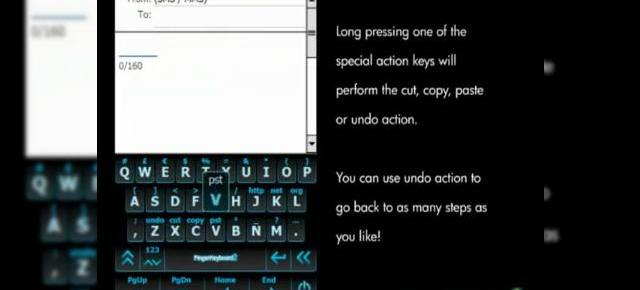 Finger Keyboard 2, V2.1, tastatura virtuala ideala pentru terminalele Windows Mobile cu ecran touch