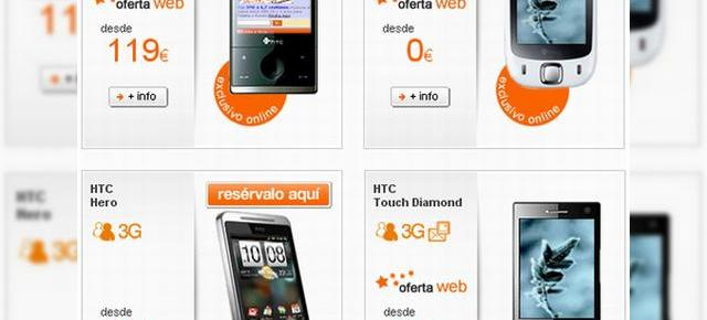 HTC Hero costa 99 de euro in Spania, cu abonament Orange