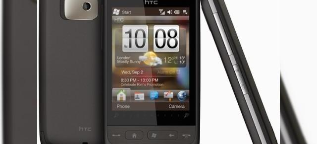 HTC Mega (Touch2) anuntat oficial; soseste cu Windows Mobile 6.5