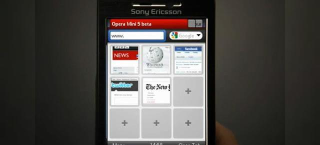 Opera Mini 5 beta acum disponibil, prezentat in actiune (Video)