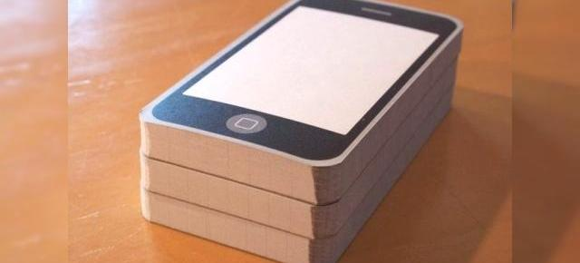 "Carnetelul ""iPhone"" Notepod, ideal pentru developerii de aplicatii Apple"