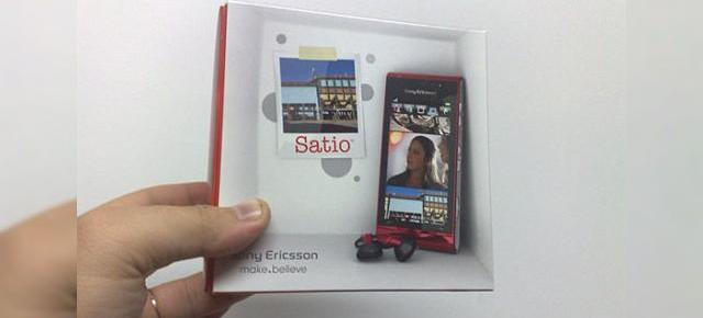 Sony Ericsson Satio, telefon cu camera de 12 megapixeli testat in Romania