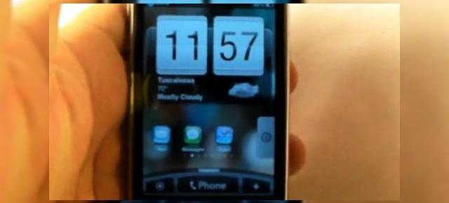 HTC Sense UI, acum pe iPhone 3GS, prin intermediul unei teme (Video)