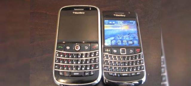 BlackBerry Bold 9700, analizat in fata camerei