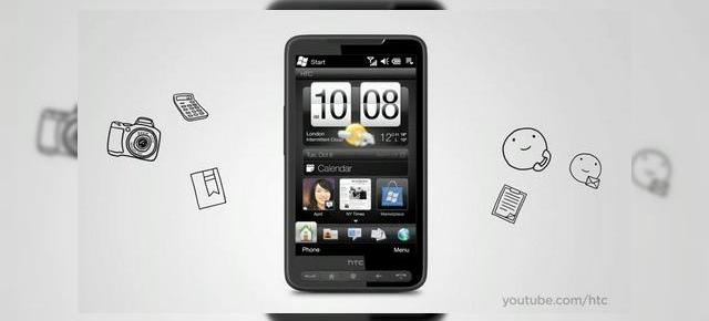 HTC HD2, intr-o prezentare video ampla