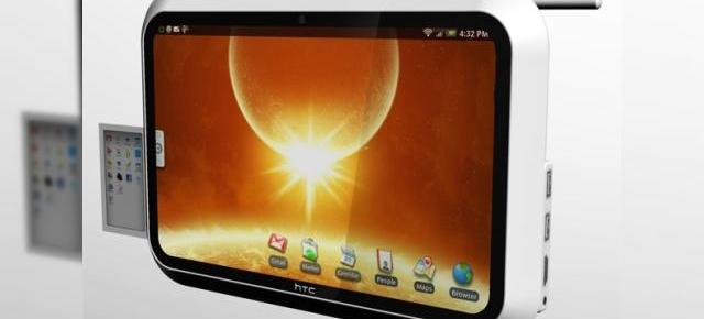 HTC Evolve, un tablet concept care ruleaza Android si foloseste un display OLED touch