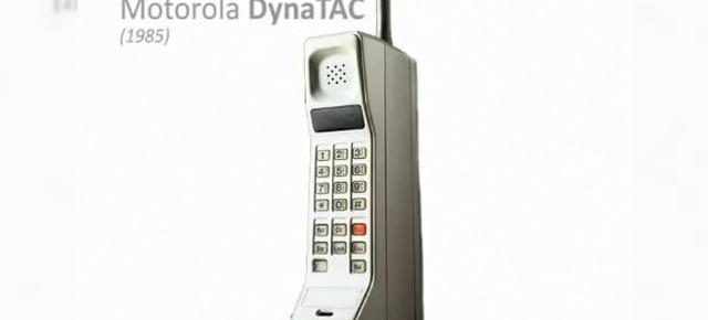 Evolutia telefoanelor mobile (Video)