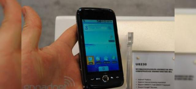 CES 2010: Huawei U8230, analizat intr-o experienta hands on