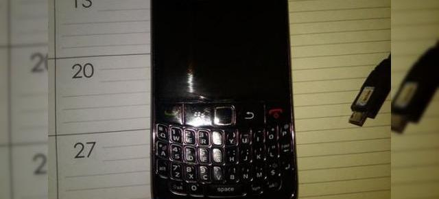 Prima imagine cu BlackBerry Curve 8910, scapata pe web