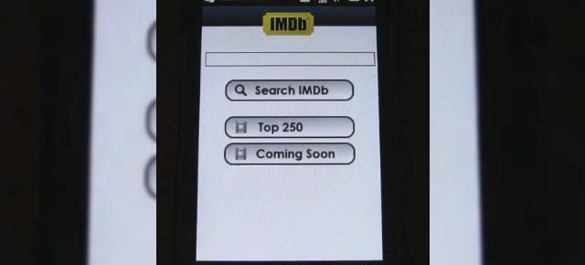 Aplicatia IMDb Mobile, disponibila acum in varianta beta