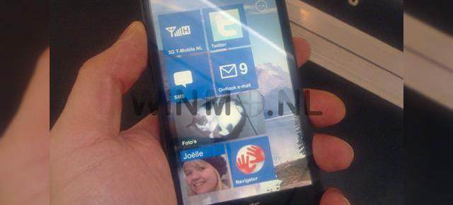 Windows Phone 7 Series, surprins pe HTC HD2?