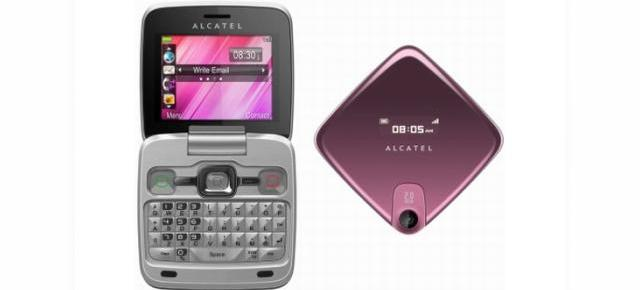 "Alcatel OT-808, telefon entry level cu ""look de netbook"""