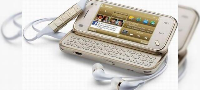 Nokia N97 mini, acum Golden Edition!