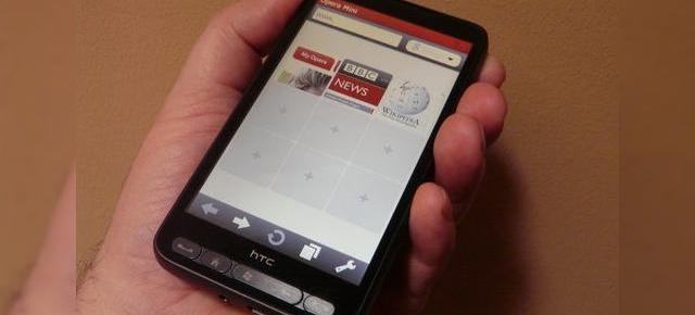 Opera Mini lansat sub forma de aplicatie nativa pe Windows Mobile