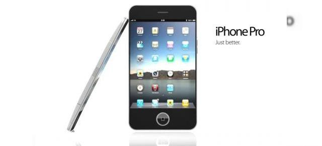 iPhone Pro, probabil cel mai bun concept de iPhone 4G (Video)
