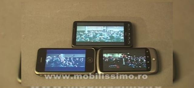 Nexus One, mai bun decat iPhone 3G si HTC HD2, la capitolul display (Video)