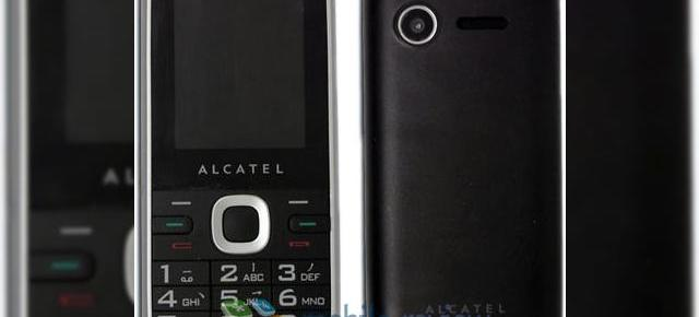 Alcatel C60, un dual SIM entry level