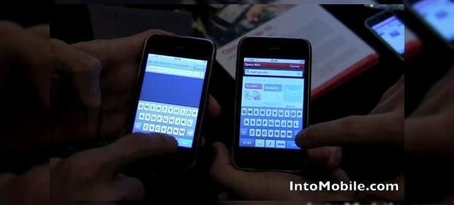 Opera Mini for iPhone versus Safari Mobile (Video)