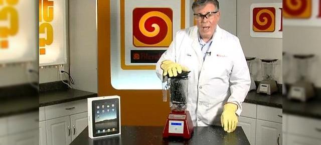 "Apple iPad, facut farame de un mixer - ""Will it Blend?"" (Video)"