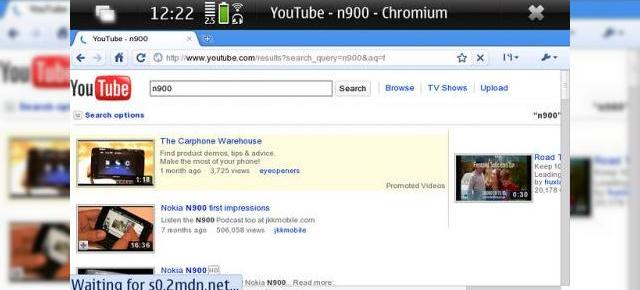 Google Chrome disponibil acum pe Nokia N900