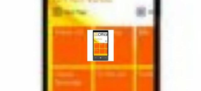 Hubul Office din Windows Phone 7, acum cu mai multe detalii (Video)