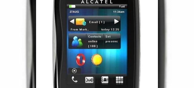 Alcatel One Touch XTRA, telefonul cu functii sociale, touchscreen si pret accesibil