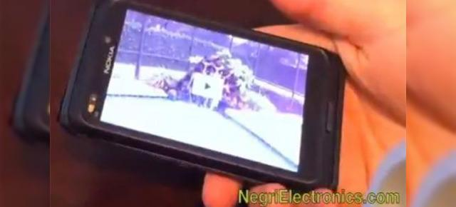 Nokia N9/E7 filmat si prezentat in actiune (Video)