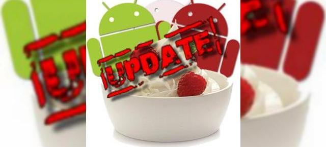 Update-ul oficial Android 2.2 Froyo FRF84B scapat pe web!
