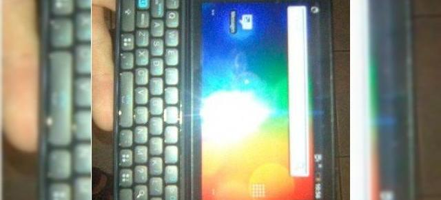 HTC Vision, un smartphone Android full QWERTY scapat pe web