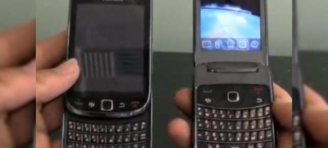 BlackBerry 9800 Slider, 9670 Clamshell si 9300 Kepler surprinse de camera