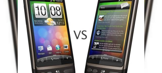 Duelul ecranelor HTC: Desire (AMOLED) versus Desire (SLCD) si HD2 (LCD) - Video
