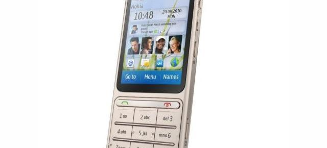 Un clasic cu design modern: Nokia C3 Touch and Type, debutant la Nokia World 2010