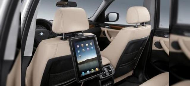 BMW + iPad = love; BMW anunta suport pentru iPad si iPod-out