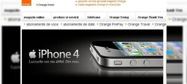 iPhone 4 disponibil prin Orange Romania de ASTAZI! Iata un istoric al telefoanelor Apple in Romania