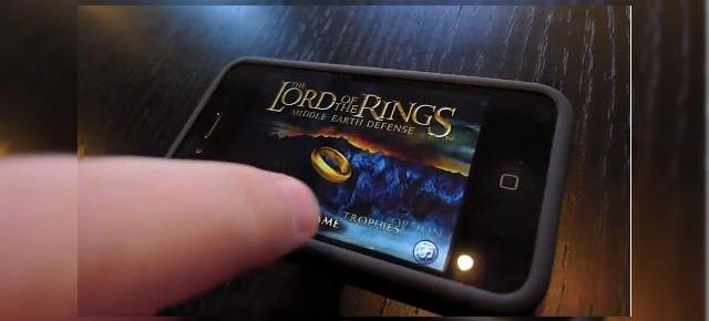 "Frodo si Inelul acum pe iPhone, intr-un joc tip ""Tower Defense"" (Video)"