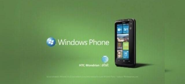Reclama ciudata la Windows Phone 7; HTC Mondrian isi face aparitia in clipuri promotionale (Video)