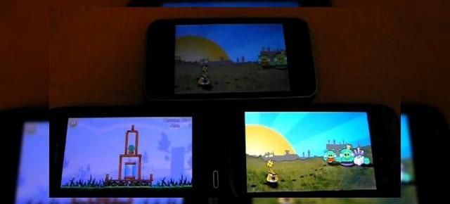 Angry Birds, un joc popular pe iPhone, Nokia N8 si Nexus One (Video)