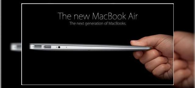 Noi modele MacBook Air prezentate oficial de Apple - variante de 13.3 si 11.6 inchi