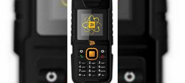 Primul telefon care pluteste, JCB Toughphone Tradesman, un model ultra-rezistent