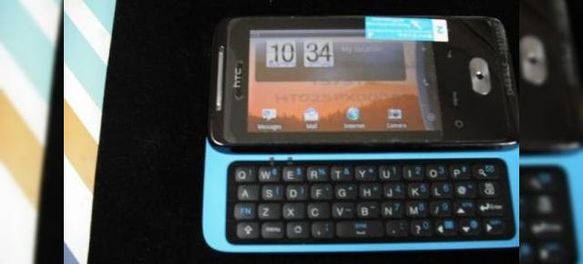 HTC Paradise, sliderul QWERTY cu Android reapare pe web