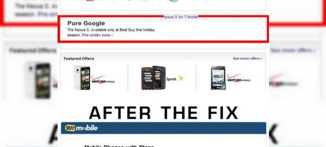 Google Nexus Two există! Nexus S, confirmat accidental de retailerul Best Buy