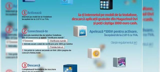 Incarcare vodafone credit online