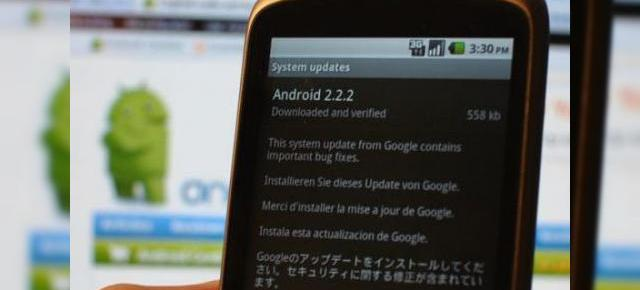 Nexus One primește Android 2.2.2 (build FRG83G); descarcă-l acum!